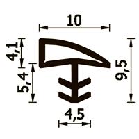 GUARNIZIONE A107KSP NERA