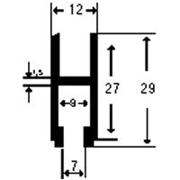PROFILATO mm30x12,5