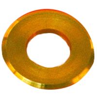 com-four/® 50x Tappo di Protezione per pioli rondella per ancoraggi a Terra rondella Inferiore per pioli per Proteggere Il telone della Tenda